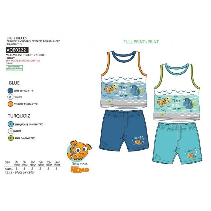 TMBB-AQE0222 Comprar ropa al por mayor Conjunto 2 pcs short y