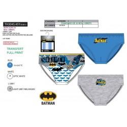 Pack de 3 slips de algodón-SCI-TH3045.45Y-BATMAN
