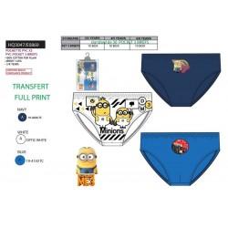 Pack de 3 slips algodón-SCI-HQ3047-MINIONS