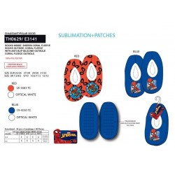 Zapatillas descanso poliéster-SCI-TH0629-SPIDERMAN