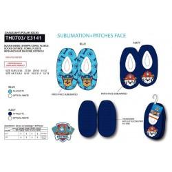 Zapatillas descanso poliéster-SCI-TH0703-PAW PATROL