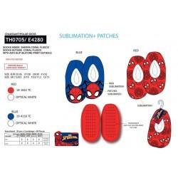 Zapatillas descanso poliéster-SCI-TH0705-SPIDERMAN