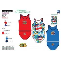 Conjunto dos piezas camiseta tirantes + slip-SCI-DQE3154-SUPER WING