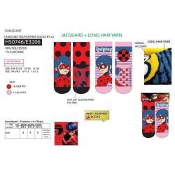 Pack de 2 calcetines-SCI-HS0746-LADY BUG