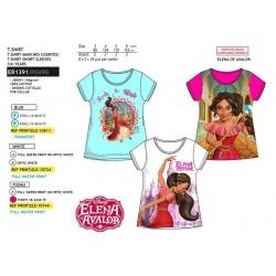 Camiseta manga corta algodón-SCI-ER1391-ELENA OF A