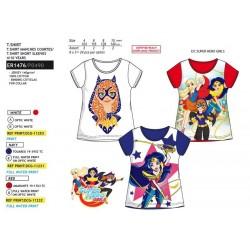 Camiseta manga corta algodón-SCI-ER1476-DC SUPER H