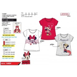 Camiseta manga corta algodón-SCI-ET1109-MINNIE