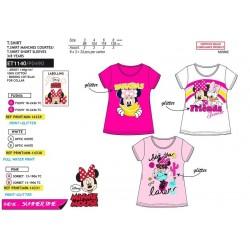 Camiseta manga corta algodón-SCI-ET1140-MINNIE