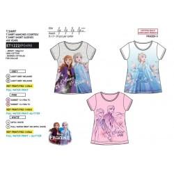 Camiseta manga corta algodón-SCI-ET1222-FROZEN