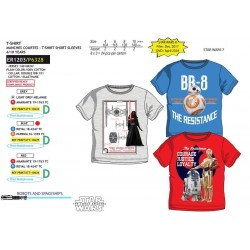 Camiseta manga corta algodón-SCI-ER1203-STAR WARS