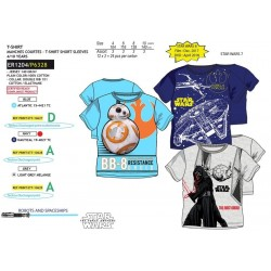 Camiseta manga corta algodón-SCI-ER1204-STAR WARS