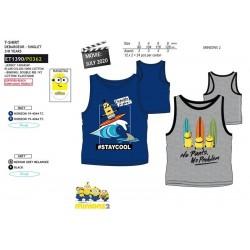 Camiseta desmangada algodón-SCI-ET1390-MINIONS