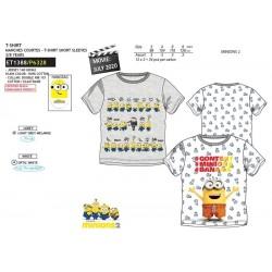 Camiseta manga corta algodón-SCI-ET1388-MINIONS