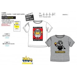 Camiseta manga corta algodón-SCI-ET1394-MINIONS