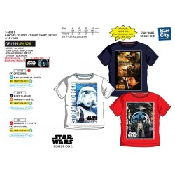 Camiseta manga corta algodón-SCI-QE1592-STAR WARS