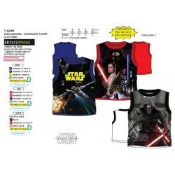 Camiseta desmangada algodón-SCI-ER1212-STAR WARS
