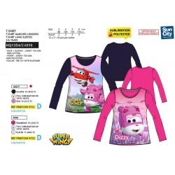 Camiseta manga larga-SCI-HQ1354-SUPER WING