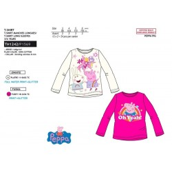 Camiseta manga larga algodón-SCI-TH1242-PEPPA PIG