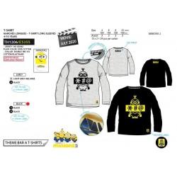 Camiseta manga larga algodón-SCI-TH1206-MINIONS
