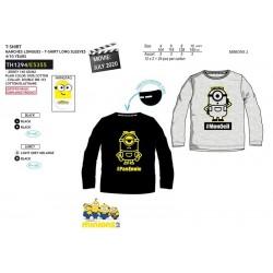 Camiseta manga larga algodón-SCI-TH1294-MINIONS