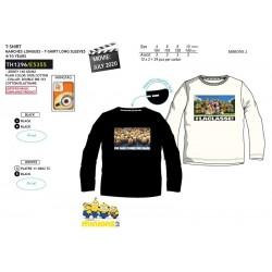 Camiseta manga larga algodón-SCI-TH1296-MINIONS