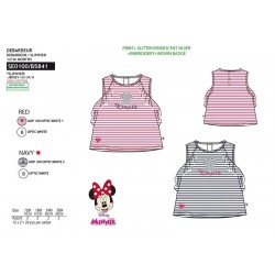 Camiseta desmangada algodón-SCI-SE0100-MINNIE