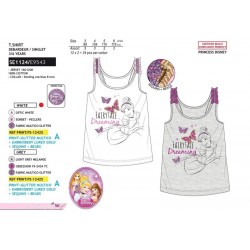 Camiseta desmangada algodón-SCI-SE1124-PRINCESSE