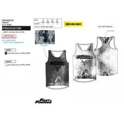 Camiseta desmangada algodón-SCI-FFER1033-FAST&FURIO