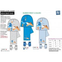 Set 3 piezas bufanda, guantes y gorro-SCI-NH4338-PLANES