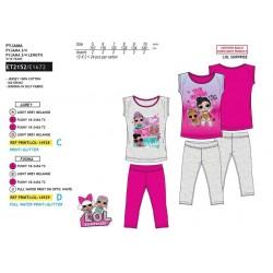 Pijama manga corta algodón-SCI-ET2152-LOL SURPRI