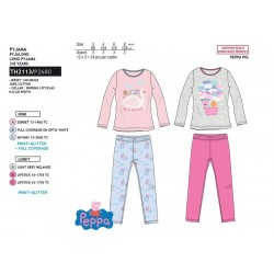 Pijama largo algodón-SCI-TH2113-PEPPA PIG