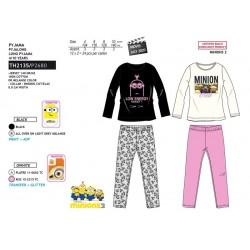 Pijama largo algodón-SCI-TH2135-MINIONS