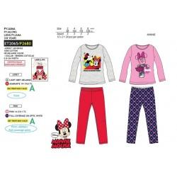Pijama largo algodón-SCI-ET2065-MINNIE