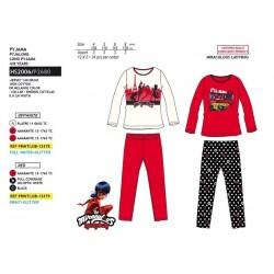 Pijama largo algodón-SCI-HS2006-LADY BUG