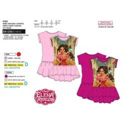 Vestido manga corta-SCI-ER1250-ELENA OF A