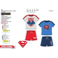Conjunto dos piezas-SCI-ET1250-SUPERMAN