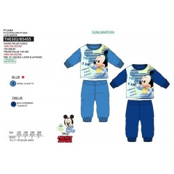Pijama largo poliéster-SCI-TH0302-MICKEY