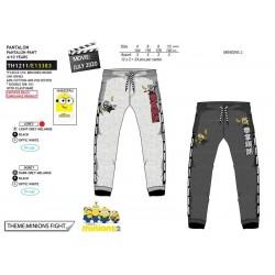 Pantalon jogging-SCI-TH1211-MINIONS