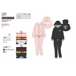 Pijama largo algodón-SCI-RH3590-WONDER WOM