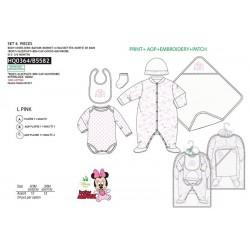 Set 6 piezas bebé, body y accesorios-SCI-HQ0364-MINNIE