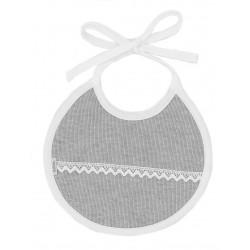 Babero redondo cinta nacimiento canutillo-BDI-635-Babidú