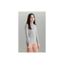 Camiseta cuello cisne niño/a-BDI-7500-Punt Nou