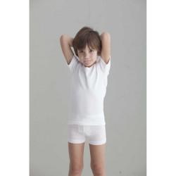 Camiseta interior niño manga corta felpa-BDI-8005-Punt Nou