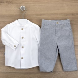 Conj. pantalón largo + camisa c/mao galicia-BDI-44304-Babidú