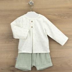 Conj. pantalón corto + camisa tapeta sevilla-BDI-44309-Babidú