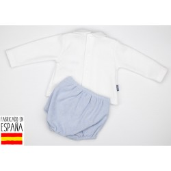 Conjun. ranita + camiseta c/bebe firenze-BDI-44450-Babidú