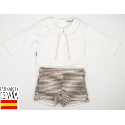 Conj. pantalón + camisa c/bebe pisa-BDI-45456-Babidú
