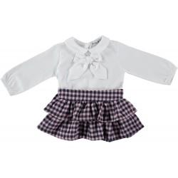 Conjunto camisa lazo+ falda liverpool-BDI-46455-Babidú