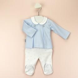 Conjunto c/bebe tablillas huellas-BDI-52116-Babidú