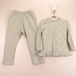 Pijama niño boton lateral paraguas-BDI-71177-Babidú